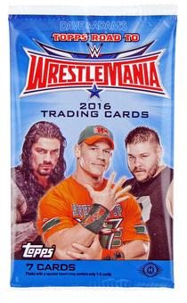 2016 Topps WWE Road to Wrestlemania Wrestling Hobby Pack