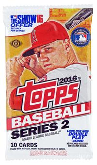 2016 Topps Series 2 Baseball Hobby Pack