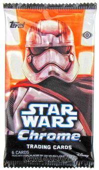 Star Wars: The Force Awakens Chrome Hobby Pack (Topps 2016)