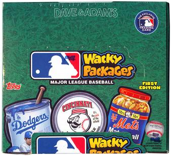 2016 Topps Wacky Packages Baseball Hobby Box