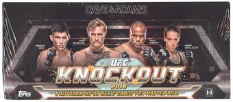 2016 Topps UFC Knockout Hobby Box