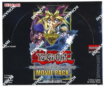 Yu-Gi-Oh The Dark Side of Dimensions: Movie Pack Booster Box