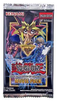 Konami Yu-Gi-Oh The Dark Side of Dimensions: Movie Pack Booster Pack