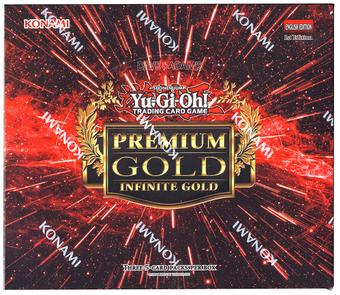 Yu-Gi-Oh Premium Gold: Infinite Gold Booster Box
