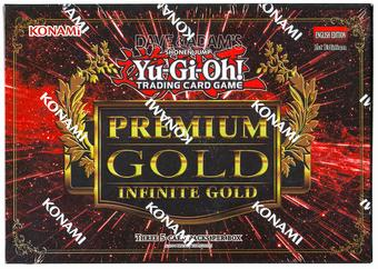 Konami Yu-Gi-Oh Premium Gold: Infinite Gold Booster Mini-Box