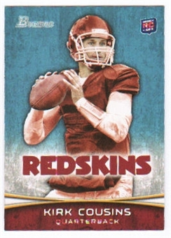 2012 Topps Bowman #145A Kirk Cousins RC/facing forward
