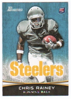 2012 Topps Bowman #166 Chris Rainey