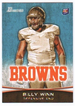2012 Topps Bowman #175 Billy Winn