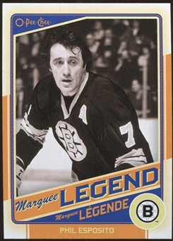 2012/13 Upper Deck O-Pee-Chee #505 Phil Esposito Legend