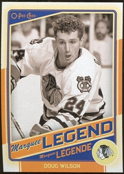 2012/13 Upper Deck O-Pee-Chee #509 Doug Wilson Legend