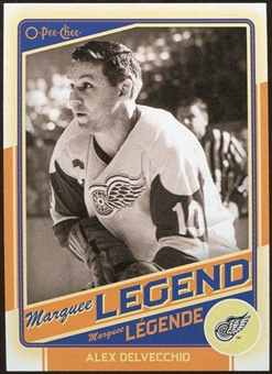 2012/13 Upper Deck O-Pee-Chee #511 Alex Delvecchio Legend