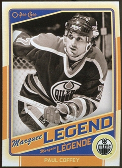 2012/13 Upper Deck O-Pee-Chee #516 Paul Coffey Legend