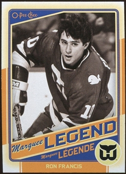 2012/13 Upper Deck O-Pee-Chee #517 Ron Francis Legend