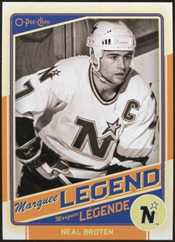 2012/13 Upper Deck O-Pee-Chee #523 Neal Broten Legend