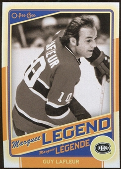 2012/13 Upper Deck O-Pee-Chee #524 Guy Lafleur Legend