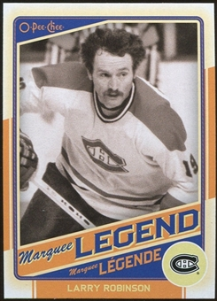 2012/13 Upper Deck O-Pee-Chee #526 Larry Robinson Legend
