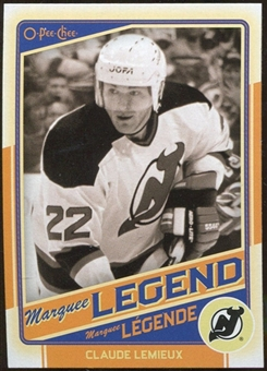 2012/13 Upper Deck O-Pee-Chee #527 Claude Lemieux Legend