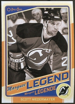 2012/13 Upper Deck O-Pee-Chee #528 Scott Niedermayer Legend