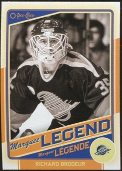 2012/13 Upper Deck O-Pee-Chee #548 Richard Brodeur L