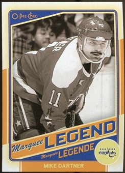 2012/13 Upper Deck O-Pee-Chee #549 Mike Gartner L