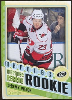 2012/13 Upper Deck O-Pee-Chee #560 Jeremy Welsh RC