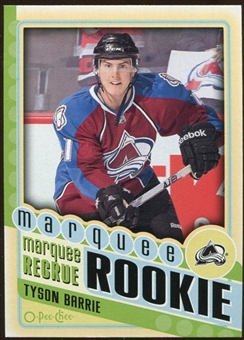 2012/13 Upper Deck O-Pee-Chee #562 Tyson Barrie RC