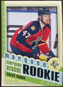 2012/13 Upper Deck O-Pee-Chee #573 Colby Robak RC