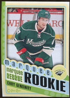 2012/13 Upper Deck O-Pee-Chee #578 Chay Genoway RC
