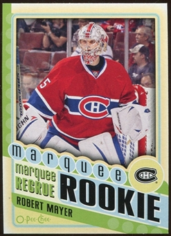 2012/13 Upper Deck O-Pee-Chee #580 Robert Mayer RC