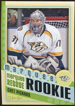 2012/13 Upper Deck O-Pee-Chee #581 Chet Pickard RC
