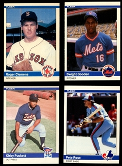 1984 Fleer Update Baseball Complete Set (NM) (No Box)