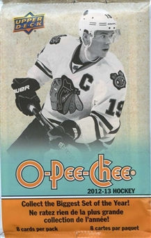 2012/13 Upper Deck O-Pee-Chee Hockey Retail Pack