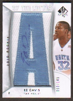 2010/11 Upper Deck SP Authentic #208 Ed Davis RC Letter Patch Autograph /149