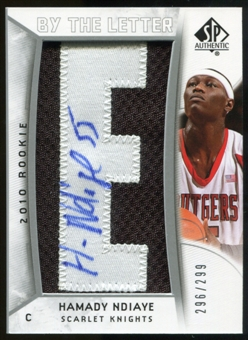 2010/11 Upper Deck SP Authentic #209 Hamady N'Diaye AU/Serial 299, Print Run 1794 Autograph /1794