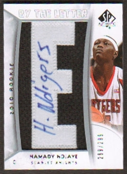 2010/11 Upper Deck SP Authentic #209 Hamady N'Diaye RC Letter Patch Autograph /299