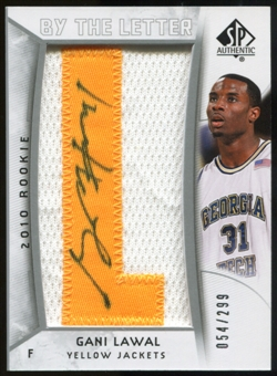 2010/11 Upper Deck SP Authentic #217 Gani Lawal AU/Serial 299, Print Run 1495 Autograph /1495