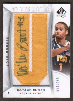 2010/11 Upper Deck SP Authentic #227 Da'Sean Butler RC Letter Patch Autograph /149