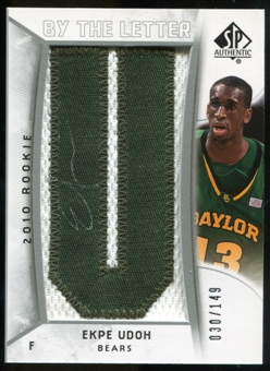 2010/11 Upper Deck SP Authentic #229 Ekpe Udoh AU/Serial 149, Print Run 596 Autograph /596