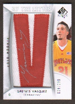 2010/11 Upper Deck SP Authentic #238 Greivis Vasquez Autograph /299