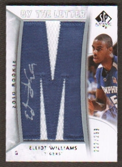 2010/11 Upper Deck SP Authentic #241 Elliot Williams Autograph /299