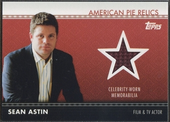 2011 American Pie #APR18 Sean Astin Relics Shirt