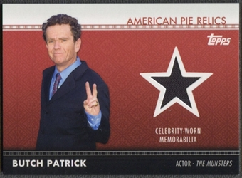2011 American Pie #APR25 Butch Patrick Relics Shirt