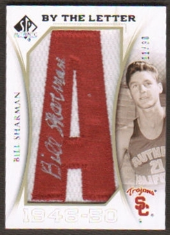 2010/11 Upper Deck SP Authentic By The Letter Legend Last Name #LBS Bill Sharman Autograph /30