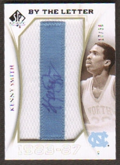 2010/11 Upper Deck SP Authentic By The Letter Legend Last Name #LKS Kenny Smith Autograph /30