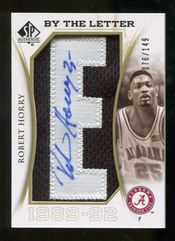 2010/11 Upper Deck SP Authentic By The Letter Legend Last Name #LRY Robert Horry Autograph /149