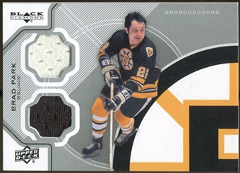 2012/13 Upper Deck Black Diamond Dual Jerseys #BEESBP Brad Park C
