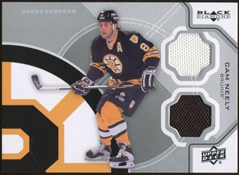 2012/13 Upper Deck Black Diamond Dual Jerseys #BEESCN Cam Neely F