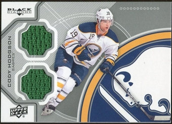 2012/13 Upper Deck Black Diamond Dual Jerseys #BUFFCH Cody Hodgson E