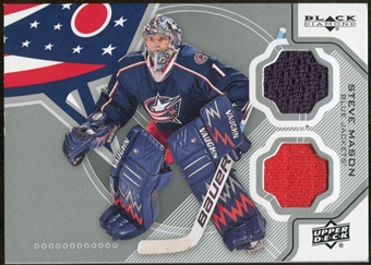 2012/13 Upper Deck Black Diamond Dual Jerseys #CBJSM Steve Mason E