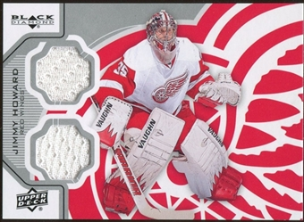 2012/13 Upper Deck Black Diamond Dual Jerseys #DETJH Jim Howard D
